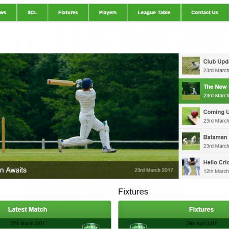 Cherry Tree Cricket Club – Web Design Blackburn with Darwen