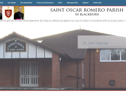 Saint Oscar Romero Blackburn